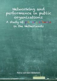 Networking and performance in public organizations