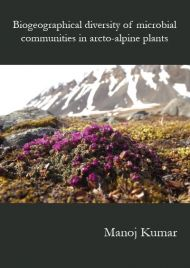 Biogeographical diversity of microbial communities in arcto-alpine plants