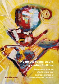 Homeless young adults using shelter facilities