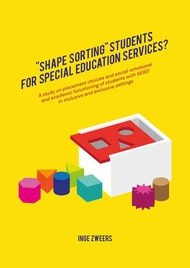 """Shape sorting"" students for special education services?"