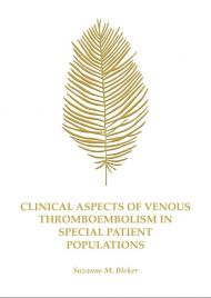 Clinical aspects of venous thromboembolism in special patient populations