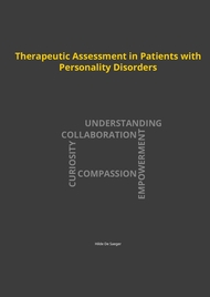 Therapeutic Assessment in Patients with Personality Disorders