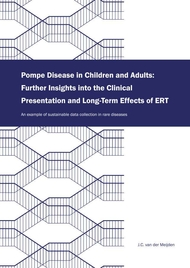 Pompe Disease in Children and Adults: Further Insights into the Clinical Presentation and Long-Term Eff ects of ERT