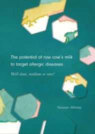 The potential of raw cow's milk to target allergic diseases