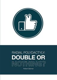 Radial Polydactyly: Double or nothing?