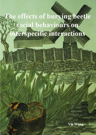 The effects of burying beetle social behaviours on interspecific interactions