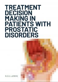 Treatment decision making in patients with prostatic disorders