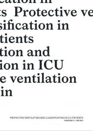 Protective ventilation and classification in ICU patients