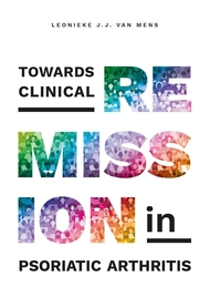 TOWARDS CLINICAL REMISSION IN PSORIATIC ARTHRITIS